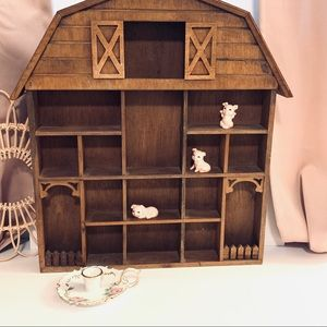 Vintage | Barn Trinket Decor Shelf